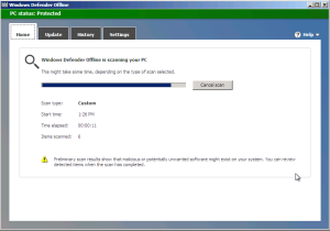 Windows Defender Offline Scan Use Windows Defender Offline to Remove Malware windows defender