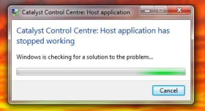 Are you getting the 'Catalyst Control Centre: Host application has stopped working' when ever you are trying to open the Catalyst Control Centre? Or maybe even when you just turn on your pc? Don't worry, just follow these simple steps and your system will be working again in no-time.
