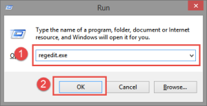 Run: Regedit Windows Update KB3000061 Failure Configuring Windows Updates, Reverting Changes KB3000061