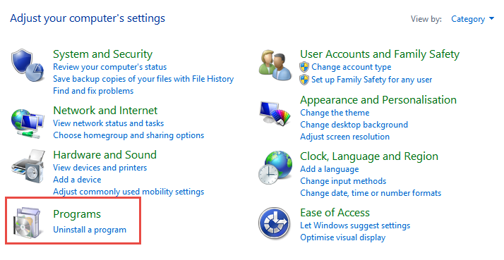Control Panel: Programs How to Remove Internet Explorer from Windows 10 remove internet explorer