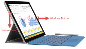 Surface Pro 3: Screenshot How to take a Screenshot on the Microsoft Surface screenshot
