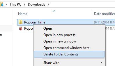 Delete Folder Contents