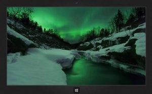 Aurora Borealis theme