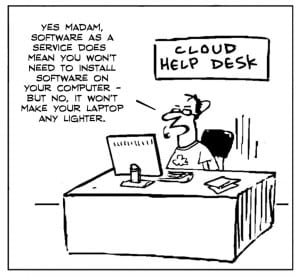 The Cloud Helpdesk Weekly Comic: The Cloud help desk Weekly Comic: The Cloud help desk