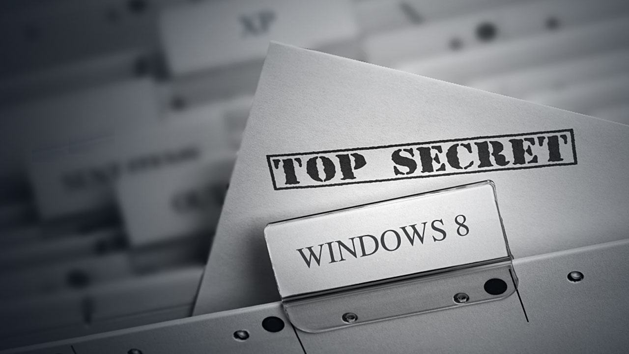 Top secret - Windows 8
