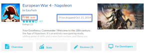 Ow look! European War 4 - Napoleon is now free! Finding the Best Windows Store Apps! appfeds