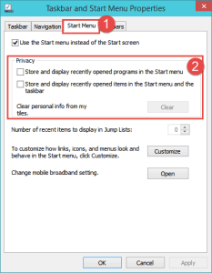 Navigation and Taskbar Options How-to Disable Recent Files on Windows 10 how-to disable recent files on windows 10