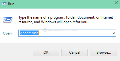 GPEdit.msc How to Turn Off / Deactivate Automatic Updates in Windows 10 automatic updates