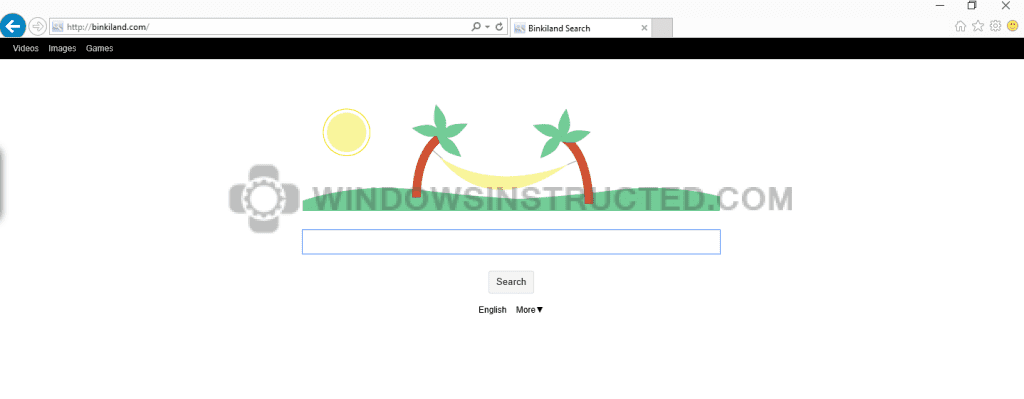 Binkiland Browser Hijacker How-to Remove Binkiland Search How-to Remove Binkiland Search