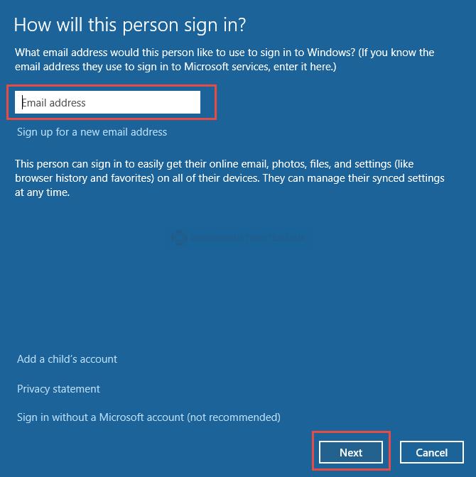Windows 10: Microsoft Account