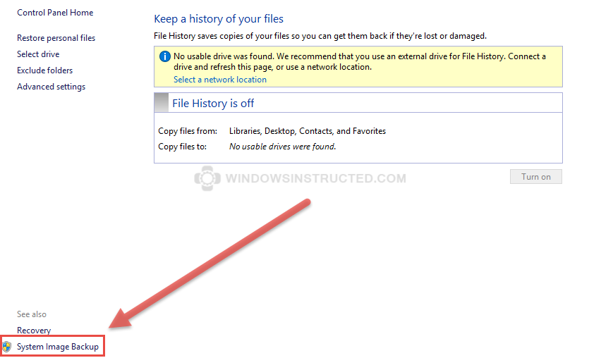 Windows 10: System Image Backup How to Create a System Image in Windows 10 How to Create a System Image in Windows 10