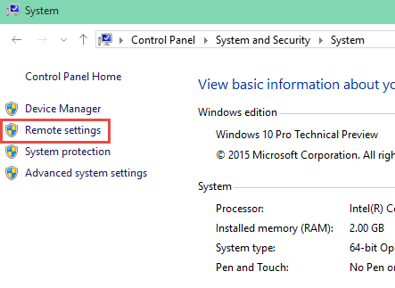 Remote Settings How to Enable Remote Connections in Windows 10 enable remote connections