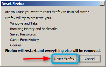 FBcV3kR.png How to Reset Firefox when it's not working How to Reset Firefox when it's not working