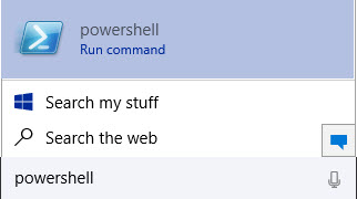 Cortana: Windows Powershell in Windows 10 How to Open Powershell in Windows 10 powershell in Windows 10