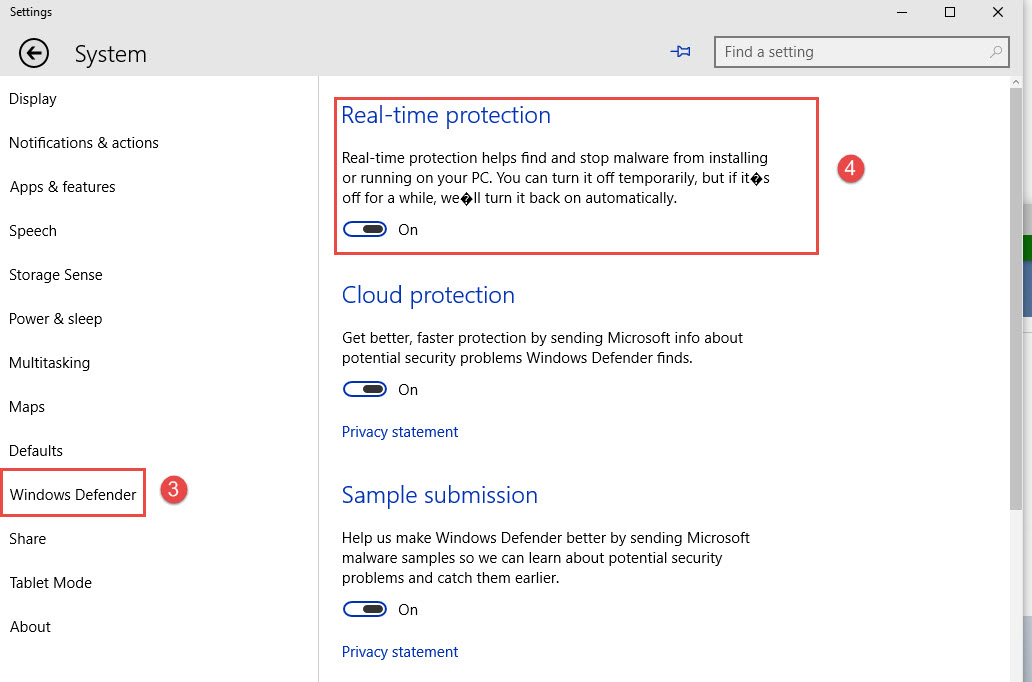 Disable Windows Defender in Windows 10 How to Disable Windows Defender in Windows 10 Disable Windows Defender in Windows 10