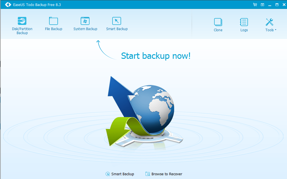 EaseUS Todo Backup Design