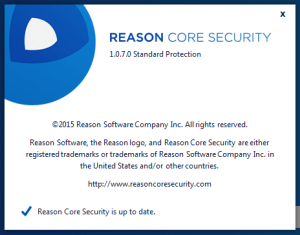 Reason Core Security Reason Core Security