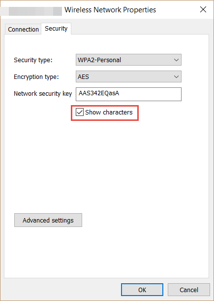 Wireless Network Password Phrase