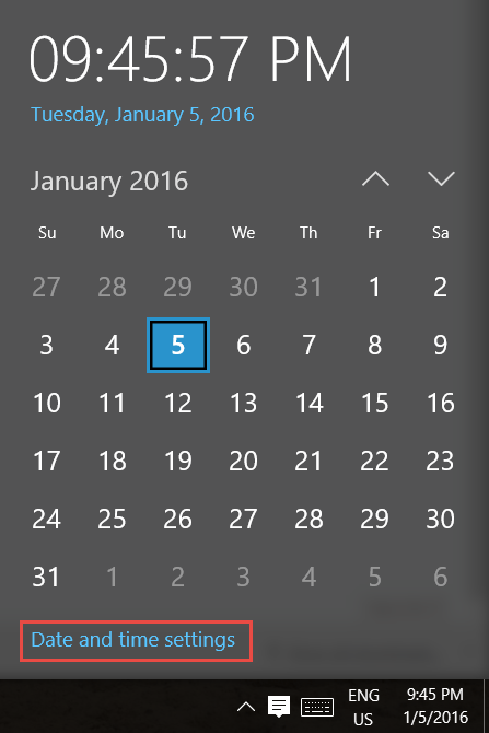 2016-01-05_21-46-06 How to Change the Time Zone in Windows 10