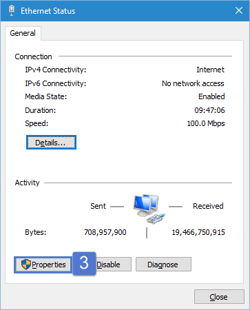 Network Status Dialog How to change DNS server address in Windows 10 and Windows 8? dns server address