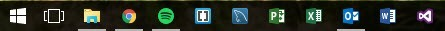 Small Size Taskbar Icons