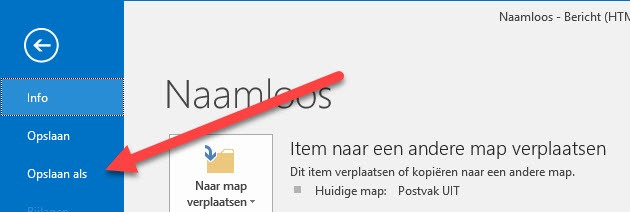 2016-07-15_08-20-26 Email Sjablonen maken in Outlook 2016 email sjablonen