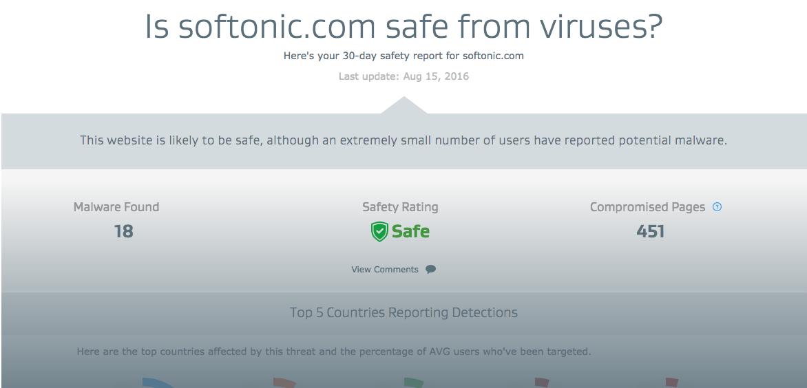 avg Is Softonic Safe? Is Softonic Safe?