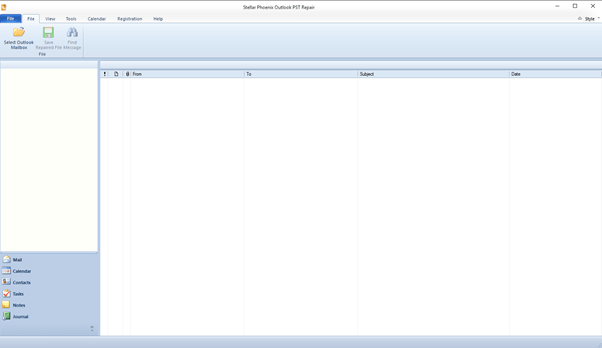 Stellar Phoenix Outlook PST Repair: Restoring corrupted PST files