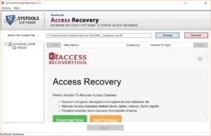 """click """"Recover"""""""