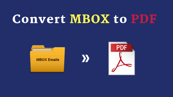 Convert MBOX File to PDF