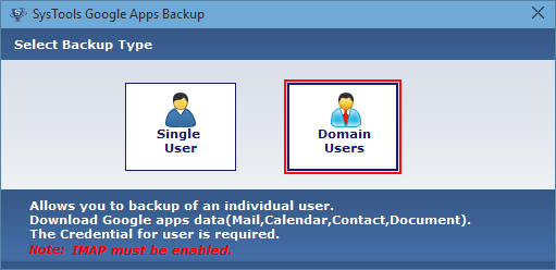 Single and Domain user access